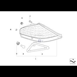 Gniazdo żarówki lampy tylnej - 63216942452