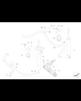 Guma stabilizatora przód BMW E46 Sport 316 318 320 323 325 330 Z4 - 31351094556