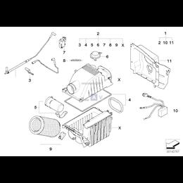 Sterowanie podciśnieniowe-silnik - 13720396431
