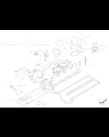 Uszczelka pokrywy BMW E46 E87 E90 E60 X3 318d 320d 520d 118d 120d - 11127794495