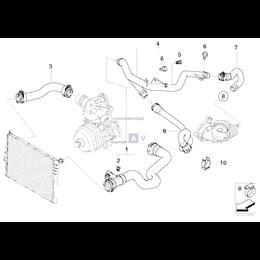 Przewód elastyczny układu chłodzenia - 11537788266