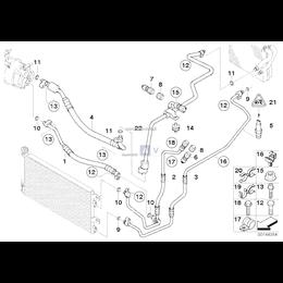 Przewód ssący kompresora - 64506946621