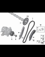 Łańcuch rozrządu BMW E60N X5 E87 E84 E90 F10 F11 F01 F30 Mini F07 F20 - 11318572503