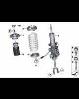 Amortyzator przedni lewy - 37116796925