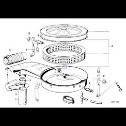 Przewód elastyczny powietrza - 13731264995