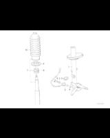 Amortyzator przedni prawy - 31312226167
