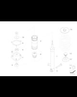 Amortyzator tylny lewy - 33526781921
