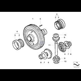 Drive shaft sprocket - 31531031013