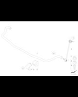 Łącznik stabilizatora przód lewy BMW E83 X3 2,0i 2,0d 2,5i 3,0i 3,0d 3,0sd 3,0si - 31303414299