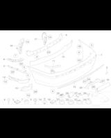 Absorber uderzenia tylny - 51127015004