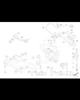 Łącznik wahacza tył BMW X5 X6 E70 E71 F15 F16 F85 F86 25dX 28iX 30dX 35dX 35iX 40dX 40eX 50iC M50dX - 33326774476