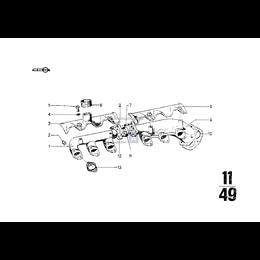 Kolektor wydechowy, przedni - 11621251417