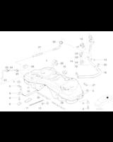 Korek wlewu paliwa niezamykany na klucz BMW E34 E36 E38 - 16111184718