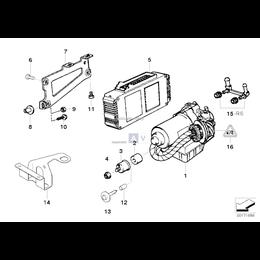 Dla samochodów z ASC+T, Króciec ssący - 34511091051
