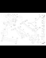 Czujnik impulsów ABS DSC tył BMW E81 E88 E90 E91 E92 E93 - 34526870077