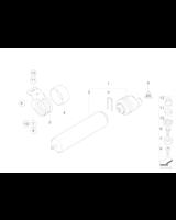 Filtr paliwa z podgrzewaczem BMW E90 E91 E92 E93 325d 330d 335d 318d 320d - 13327802939