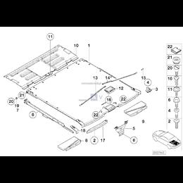 Kapturek ochronny podłogi ład. lewy - 51478238909