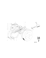 230 / 250 mm, Bęben hamulcowy - 34211101741
