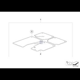 Komplet dywaników welurowych BMW E60 E61 - 51479117173