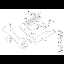 Osłona akustyczna przednia - 11147787102