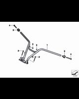 Amortyzator drgań kierownicy - 32718530607
