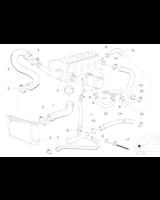 Przewód elastyczny układu chłodzenia BMW E36 316i 318i 318is 318ti - 11531247203