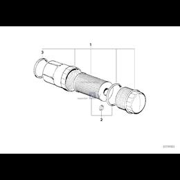Kpl. wkład filtra oleju - 11421744586
