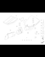 Filtr powietrza BMW E60 520i 540i 545i 550i E63 645i 650i - 13717521023
