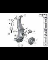 Czujnik impulsów DXC przód BMW F01 F02 F06 F07 F10 F11 F12 F13 - 34526784902