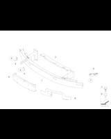 Absorber uderzenia przedni lewy - 51117185491