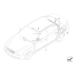 Oryginał BMW - 61126941299