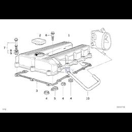 Przewód elastyczny odpowietrzający - 11151739231