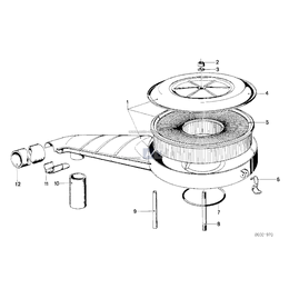 Przewód elastyczny odpowietrzający - 11151266394