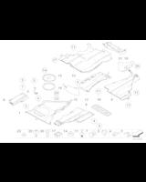 Absorber uderzenia tylny lewy - 51718237389