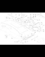 Adapter zamka pokrywy siln., zewn. - 51248398186