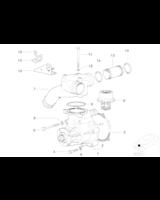 Pompa wody M3 - Oryginał BMW - 11511406650