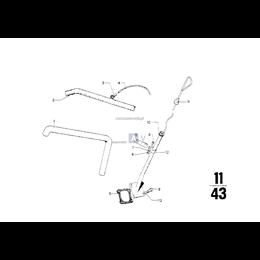 Przewód elastyczny odpowietrzający - 11151252407