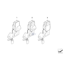 Przełącznik regul. kolumny kierownicy - 61316947788