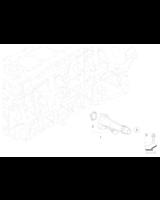 Króciec chłodzenia BMW E90N E91N E92 F10 F11 525d 530d 330d 325d N57 - 11117808571