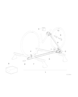 Adapter bagaznika na rower - 82129401495
