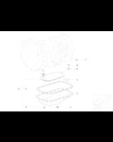Filtr automatycznej skrzyni biegów BMW X5 3,0d 3,0i - 24117557069