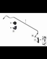 Guma stabilizatora tył BMW F07 F07N F11 F11N 518 520 523 525 530 535 550 - 33556797888