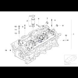 O-Ring rurki świecy zapłonowej BMW E46 E60 E81 E83 E87 E90 E91 E92 320i 318i 118i 120i 316i 520i N46N N42 N46 - 11377514007