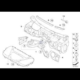 Izolacja dźwiękowa pokrywy silnika - 51489141036