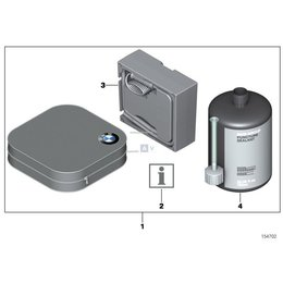 Zestaw Mobility Set do naprawy opon - 71100415035