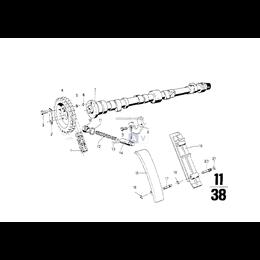 Szyna napinająca łańcucha BMW E34 E32 E30 E12 E24 M10 M30 - 11311262273
