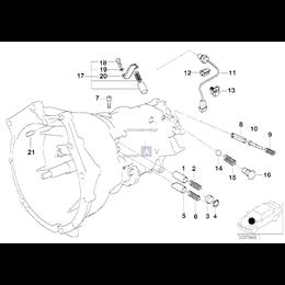Czujnik identyfikacji biegów - 23142229113