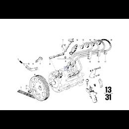 Przewód wtryskowy 4. cylinder - 13531262125
