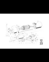 12 Volt / 1,0 Kw, Śruba z łbem walcowym - 07119919433