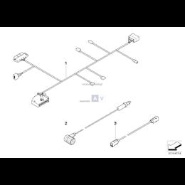 Kabel antenowy przeł. antenowego/TCU - 61126949077